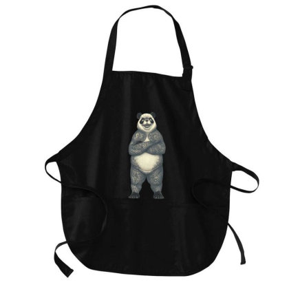 Panda Yakuza! Medium-length Apron Designed By Tmax