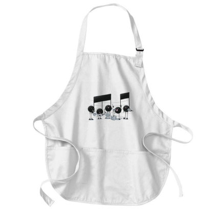 The Entertainer - Music Lover Medium-length Apron Designed By Tmax