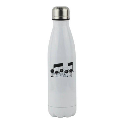 The Entertainer - Music Lover Stainless Steel Water Bottle Designed By Tmax