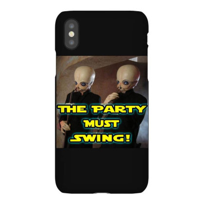 The Party Must Swing Iphonex Case Designed By Princeone