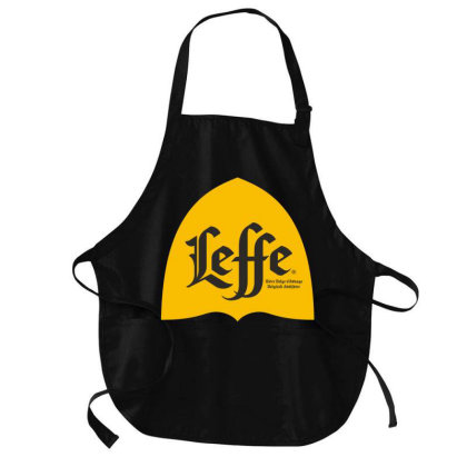 Yellow Leffe Classicc Beer Medium-length Apron Designed By Princeone