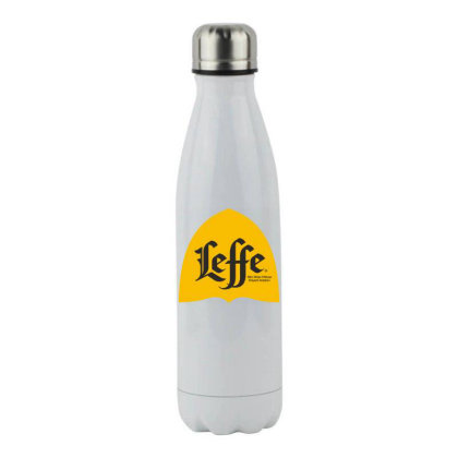 Yellow Leffe Classicc Beer Stainless Steel Water Bottle Designed By Princeone