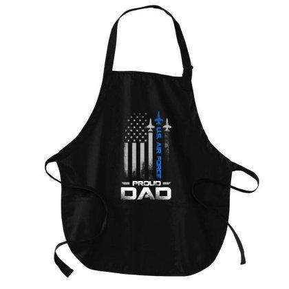 Pride U.s. Army   I'm A Proud Air Force Dad T Shirt Medium-length Apron Designed By Cute2580