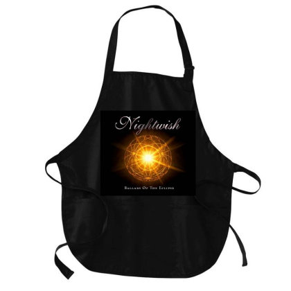 Ballads Of The Eclipse Medium-length Apron Designed By Princeone