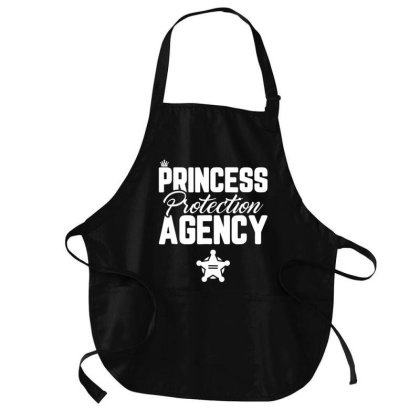Prin.c.e.s.s Pro.tec.tion Agency Father's Day T Shirt Dad Mom Gift Medium-length Apron Designed By Time0205