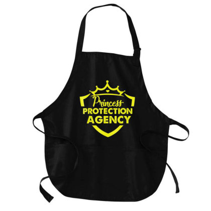 Prin.c.e.s.s  Pro.tec.tion Agency Protective Dad T Shirt Medium-length Apron Designed By Cute2580