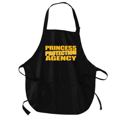 Prin.c.e.s.s  Pro.tec.tion  A.gen.cy  Funny Dad Mom Shirt Medium-length Apron Designed By Good0396
