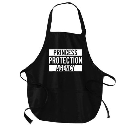 Prin.c.e..s.s  Pro.tec.tion  A.gen.cy  T Shirt For Dad And Daughter Medium-length Apron Designed By Good0396