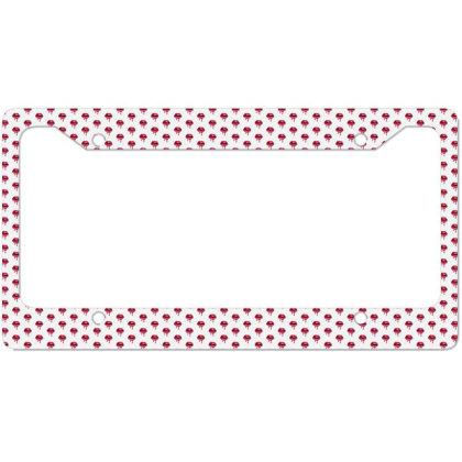 Lips Love License Plate Frame Designed By Designsbymallika