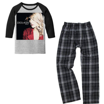 Charlotte Give Me Wessels Youth 3/4 Sleeve Pajama Set Designed By Princeone