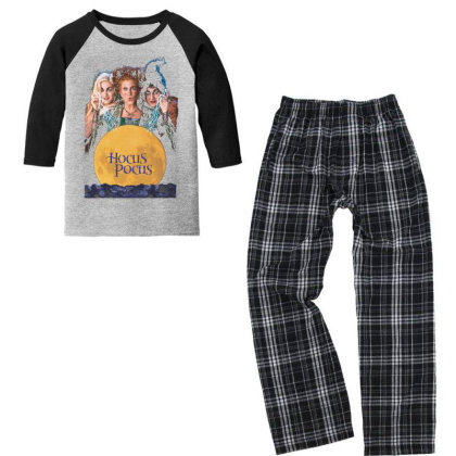 Hocus To Be Focus Youth 3/4 Sleeve Pajama Set Designed By Princeone