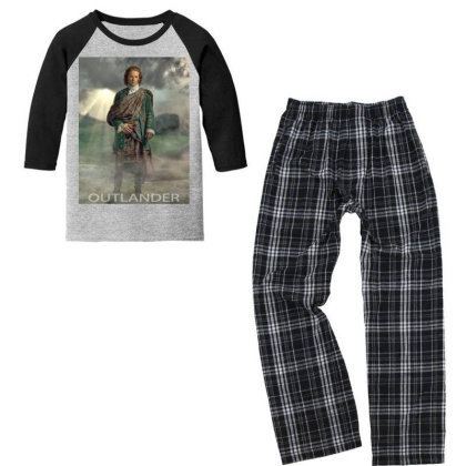 Some Like It Scot Youth 3/4 Sleeve Pajama Set Designed By Princeone