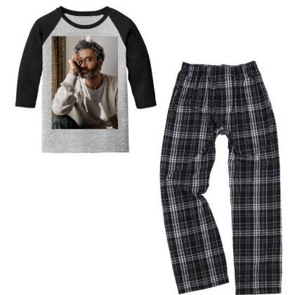 Taika Steven Waititi Youth 3/4 Sleeve Pajama Set Designed By Princeone
