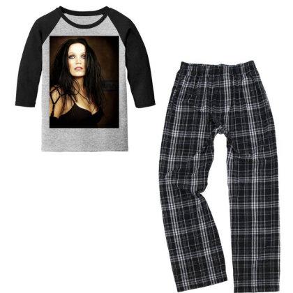 Tarja Dream Youth 3/4 Sleeve Pajama Set Designed By Princeone
