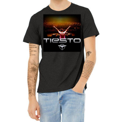 Tiesto Live Gxo Heather T-shirt Designed By Princeone