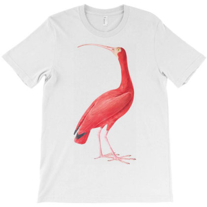 Vintage Flamingo Bird T-shirt Designed By Jack14