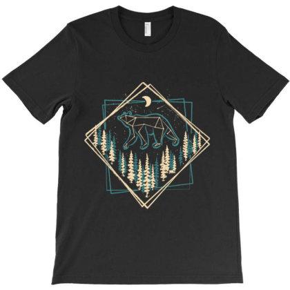 Heavens Wild Bear T-shirt Designed By Tmax