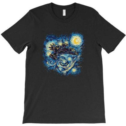 Starry Flight T-shirt Designed By Cuser4048