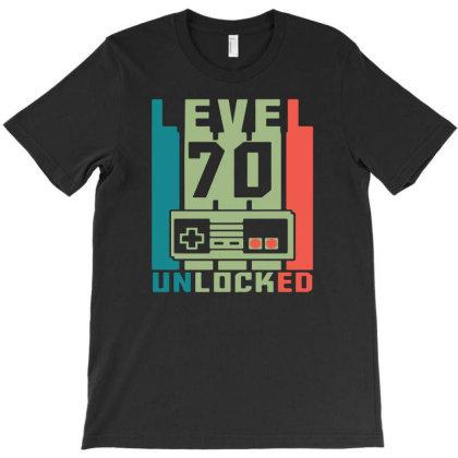 Level 70 Unlocked T-shirt Designed By Ismi4