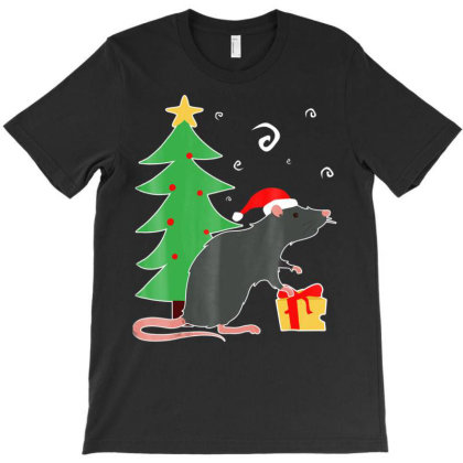 Rat Ugly Christmas Rats Mom Dad Rat Lover Owner Gift T Shirt T-shirt Designed By Good0396