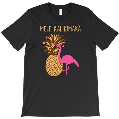 Mele Kalikimaka T-shirt Designed By Ismi4