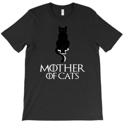 Mother Of Cats T-shirt Designed By Ismi4