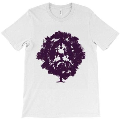 Lion Tree T-shirt Designed By Jonz