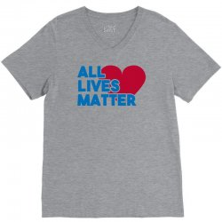 all lives matter V-Neck Tee | Artistshot