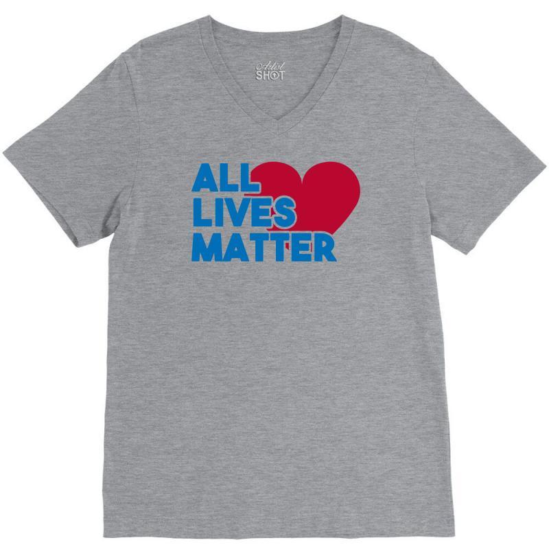All Lives Matter V-neck Tee | Artistshot