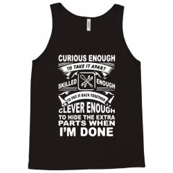 curious enough Tank Top | Artistshot