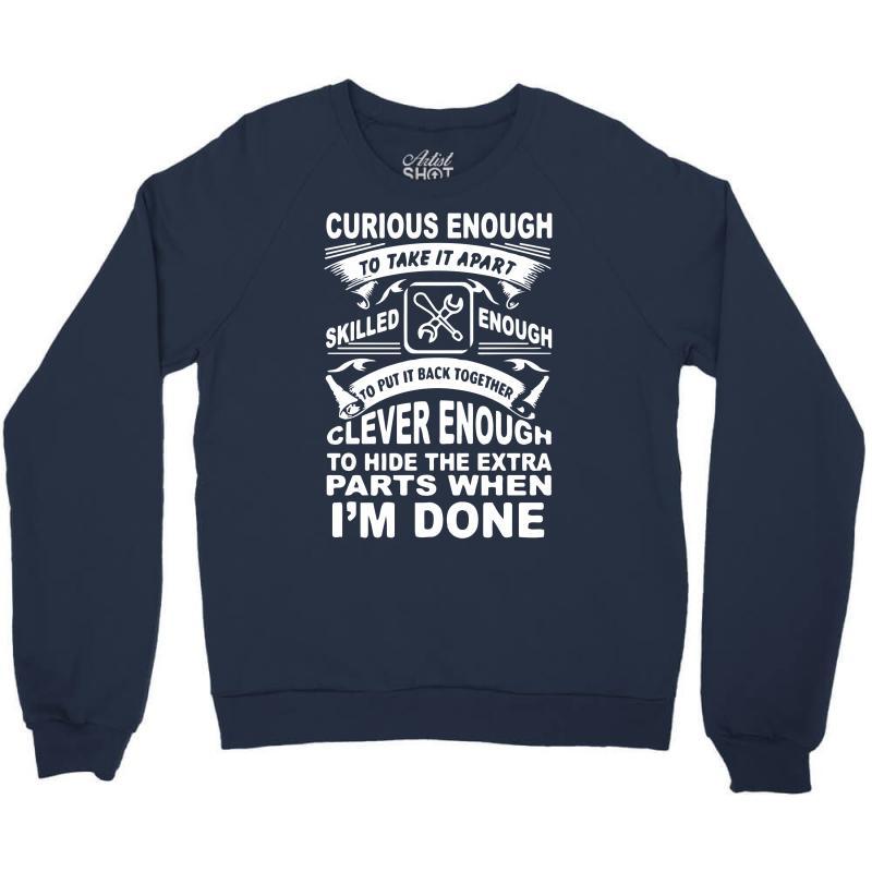 Curious Enough Crewneck Sweatshirt | Artistshot