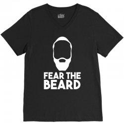 fear the beard V-Neck Tee | Artistshot