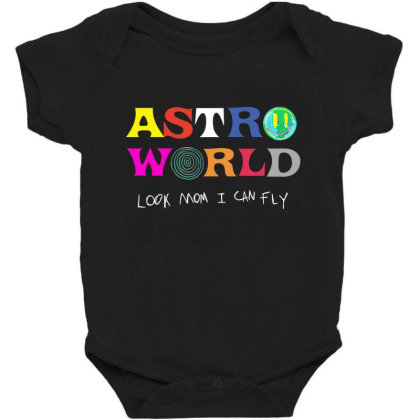 Astroworld Look Mum I Can Fly Baby Bodysuit