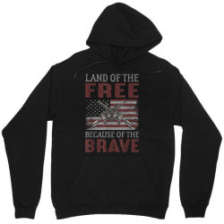 Land Of The Free Because Of The Brave Memorial Day Unisex Hoodie Designed By Koopshawneen