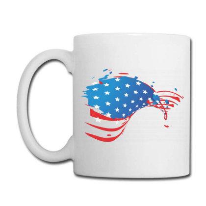 America, American Flag, Usa Coffee Mug Designed By Estore
