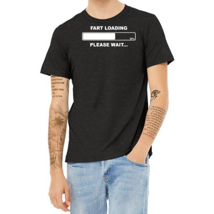 Fart Loading Please Wait Rude Gross Jackass Bloke Beer Buck Night Heather T-shirt Designed By Wanzinx