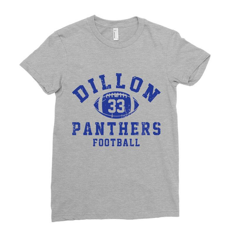Dillon Panthers Football Ladies Fitted T-shirt | Artistshot