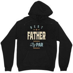 Mens Father's Day Best Father By Par Funny Golf Gift Unisex Hoodie | Artistshot