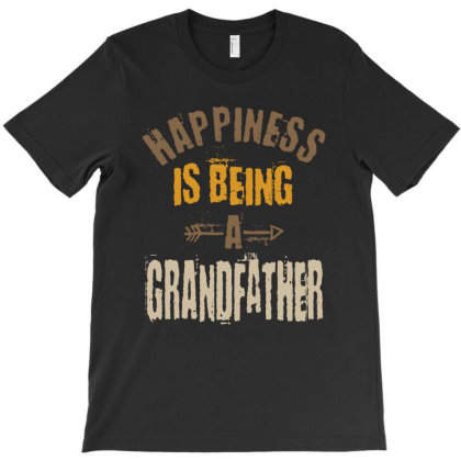 Happiness Is Being A Grandfather Gifts T-shirt Designed By Cidolopez
