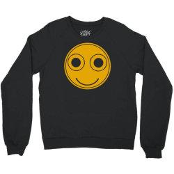 funny smiley face Crewneck Sweatshirt | Artistshot