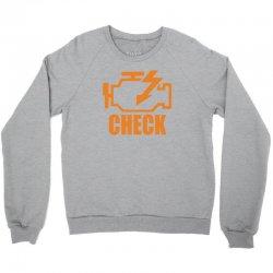 check engine Crewneck Sweatshirt | Artistshot