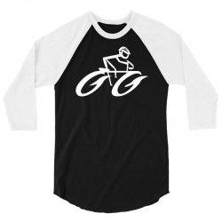 cyclist road bike biking 3/4 Sleeve Shirt | Artistshot