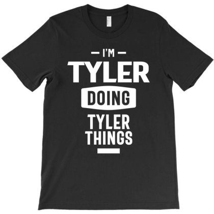 Tyler Personalized Name Birthday Gift T-shirt Designed By Cidolopez