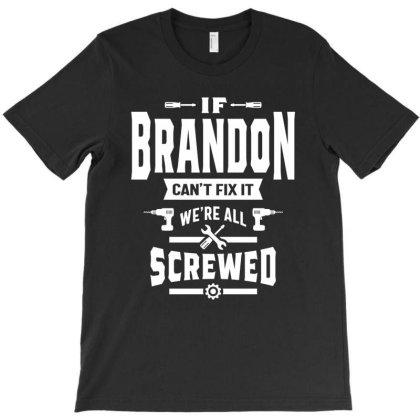 Brandon Personalized Name Birthday Gift T-shirt Designed By Cidolopez