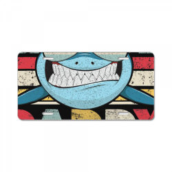 daddy shark shirt, gift for dad t shirt License Plate | Artistshot