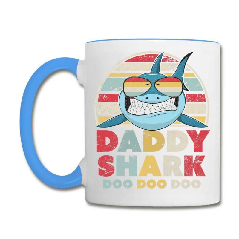 Daddy Shark Shirt, Gift For Dad T Shirt Coffee Mug | Artistshot