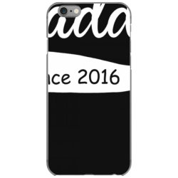 daddy since 2016 t shirt funny new dad shirt iPhone 6/6s Case | Artistshot