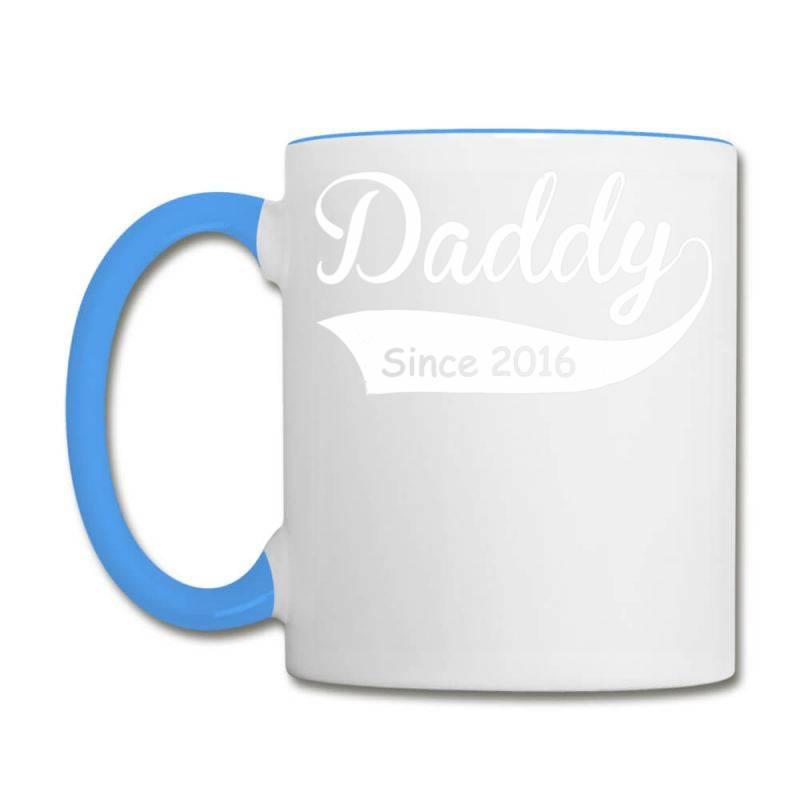 Daddy Since 2016 T Shirt Funny New Dad Shirt Coffee Mug | Artistshot