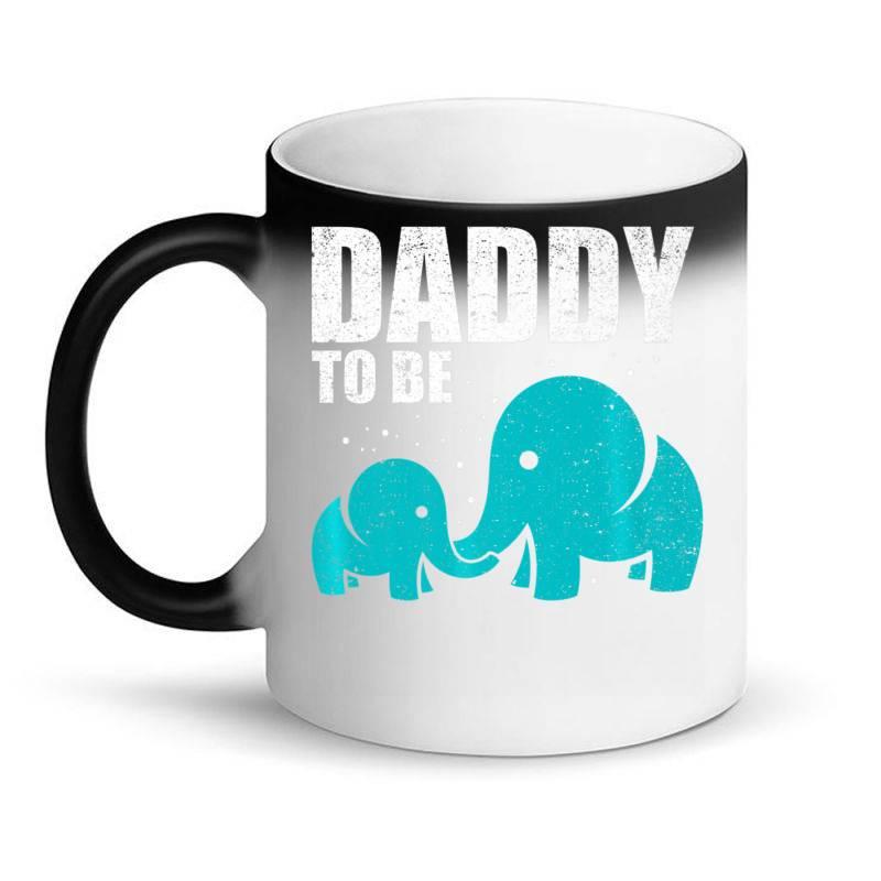 Daddy To Be Elephant Dad Father Pregnancy Baby Love Shirt Magic Mug   Artistshot