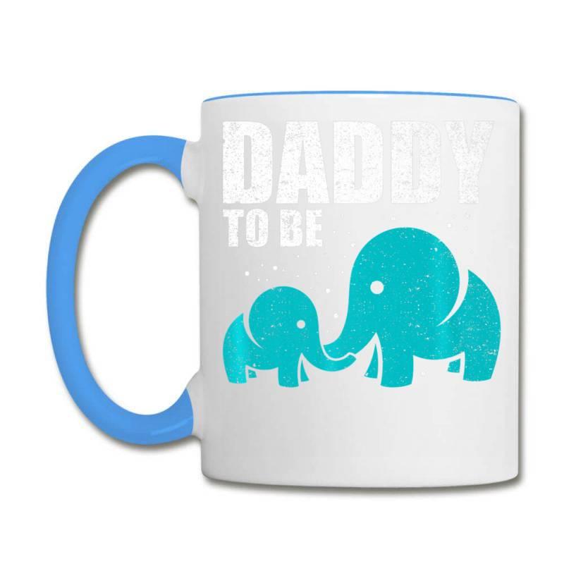 Daddy To Be Elephant Dad Father Pregnancy Baby Love Shirt Coffee Mug | Artistshot